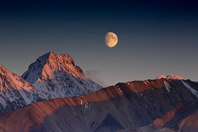 Alaska Mountains Photograph - Paradox by Ed Boudreau