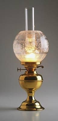 Kerosene Lamp Photograph - Paraffin Lamp by Dorling Kindersley/uig