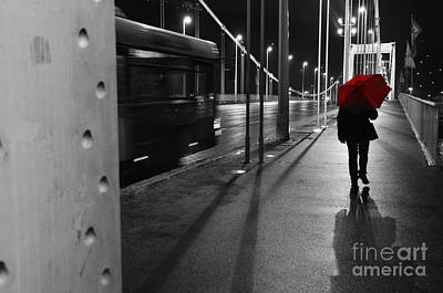 Art Print featuring the photograph Parallel Speed by Simona Ghidini