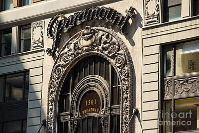 Photograph - Paramount - Broadway - Nyc by Carlos Alkmin
