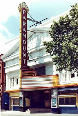 Paramount Theater In Baton Rouge Art Print by Margaret Harmon
