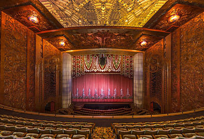Paramount Theatre - Oakland California Art Print
