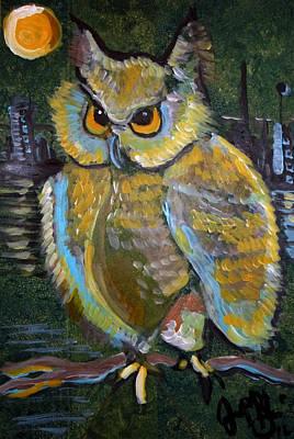 Painting - Paranoid by Jon Baldwin  Art