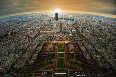 Paris Skyline Photograph - Para?s by Jose C. Lobato