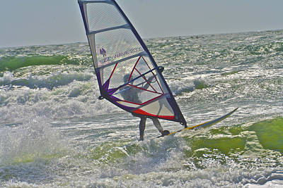 Photograph - Parasurfing by SC Heffner