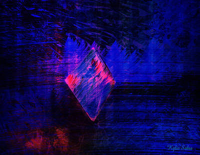 Art Print featuring the digital art Parched Rainforest by Kylie Sabra
