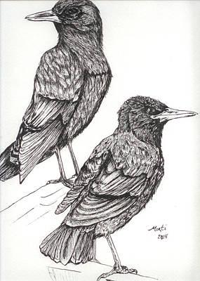 Pardon? Art Print by Monti Bargsley