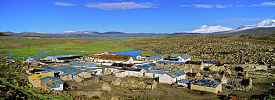 Andes Photograph - Parinacota, An Aymara Village In Lauca by Martin Zwick
