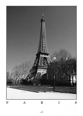 Paris - Eiffel Tower Art Print by ARTSHOT  - Photographic Art