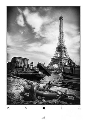 Paris - Seine Art Print by ARTSHOT - Photographic Art
