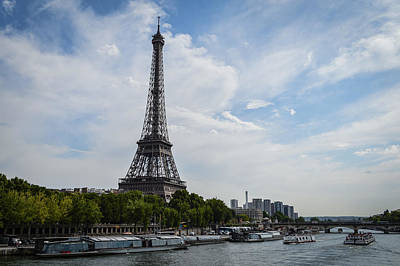 Paris Skyline Royalty-Free and Rights-Managed Images - Paris 17 by Sebastiano Secondi