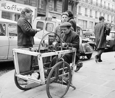 Photograph - Paris 1960s Knife Sharpener by Glenn McCurdy