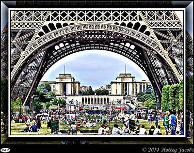 Digital Art - Paris 2 by Holley Jacobs