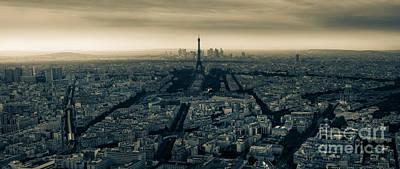 Eiffel Photograph - Paris by Alejandro Tejada
