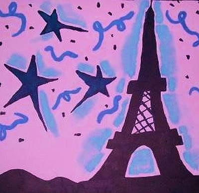 Paris Alive Art Print by Krystyn Lyon