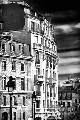 Of Artist Photograph - Paris Architecture IIi by John Rizzuto