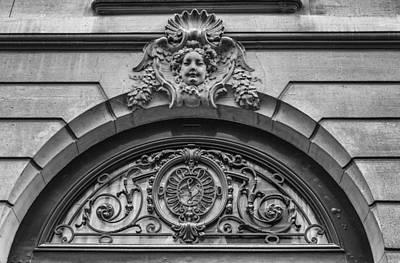 Photograph - Paris Architecture In Mono by Georgia Fowler
