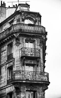Of Artist Photograph - Paris Architecture Vi by John Rizzuto