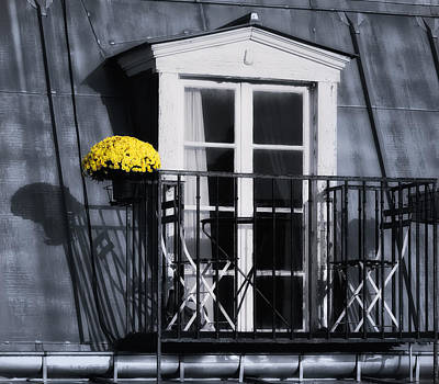 Photograph - Paris Balcony by Joan Herwig