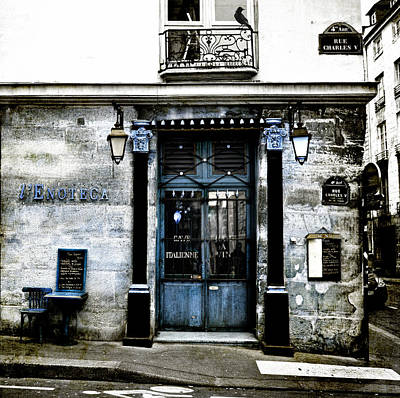 Photograph   Paris Blues By Evie Carrier