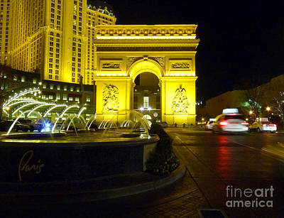 Photograph - Paris By Night by David Bearden