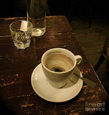 Photograph - Paris Cafe by Louise Fahy