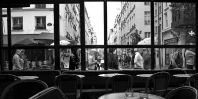 Photograph - Paris Cafe by Ng Hock How