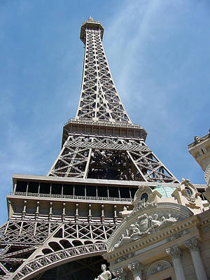 Photograph - Paris Casino In Las Vegas by Mieczyslaw Rudek