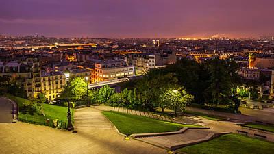 Photograph - Paris City Montmartre by Pierre Leclerc Photography