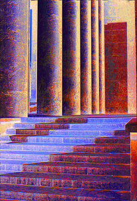 Photograph - Paris Columns by Chuck Staley