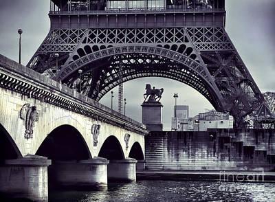 Photograph - Paris - Conceptual by Daliana Pacuraru