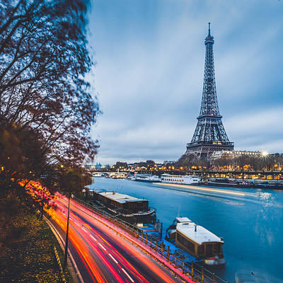 Sunrise Photograph - Paris by Cory Dewald