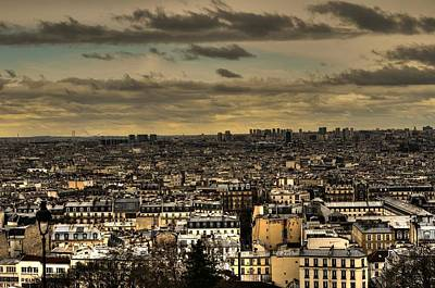 Paris Skyline Wall Art - Photograph - Paris by Dini Papavasileiou