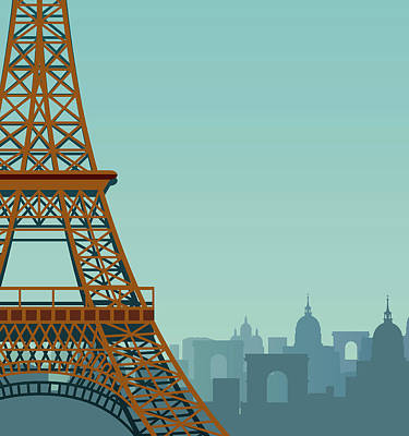 Paris Art Print by Drmakkoy