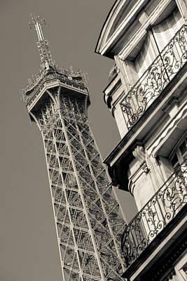 Photograph - Paris Eiffel by Matthew Pace