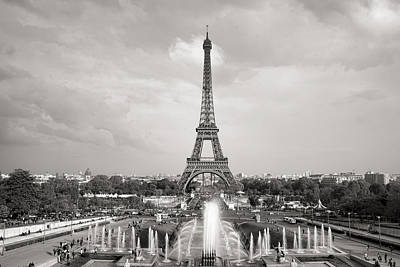 Photograph - Paris Eiffel Tower by For Ninety One Days