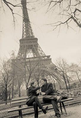 Photograph - Paris Encounters 8 by Matthew Pace