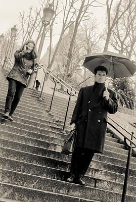 Photograph - Paris Encounters1 by Matthew Pace
