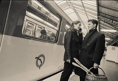 Photograph - Paris Encounters10 by Matthew Pace