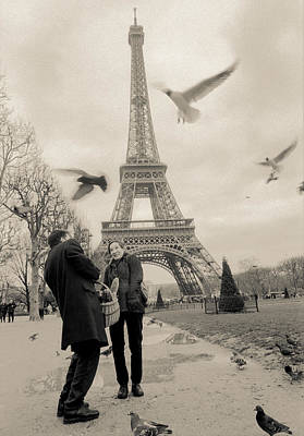 Photograph - Paris Encounters3 by Matthew Pace