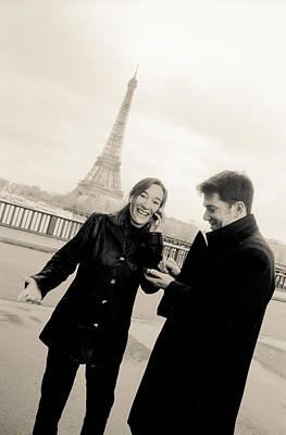 Photograph - Paris Encounters6 by Matthew Pace