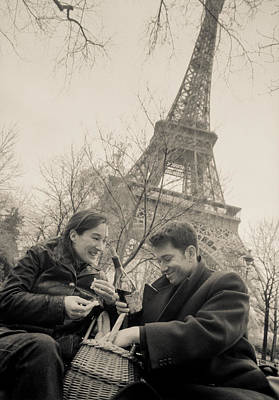 Photograph - Paris Encounters9 by Matthew Pace