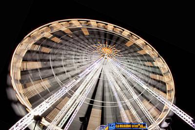 Louve Photograph - Paris Ferris Wheel by Matthew Bamberg