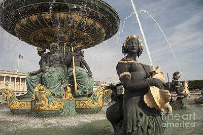 Paris Fountains  Print by Rob Hawkins
