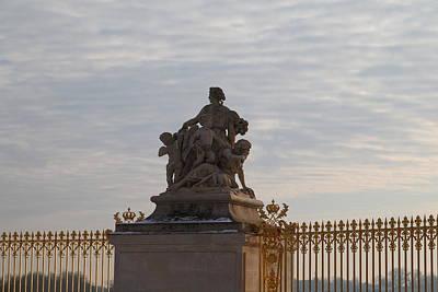 Versailles Photograph - Paris France - 01135 by DC Photographer