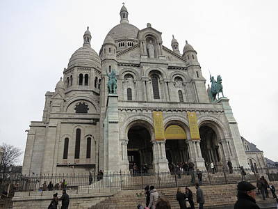 Heart Photograph - Paris France - Basilica Of The Sacred Heart - Sacre Coeur - 12122 by DC Photographer