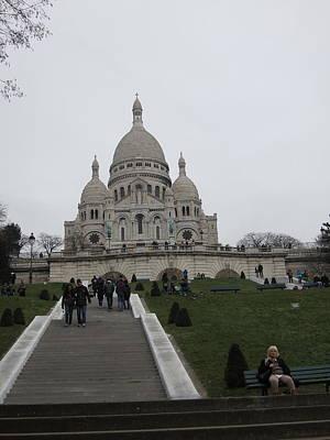 Paris France - Basilica Of The Sacred Heart - Sacre Coeur - 12128 Art Print by DC Photographer