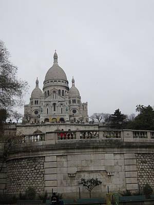 Paris France - Basilica Of The Sacred Heart - Sacre Coeur - 12129 Art Print by DC Photographer