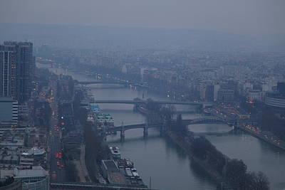 De Photograph - Paris France - Eiffel Tower - 011316 by DC Photographer
