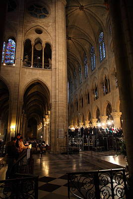 Paris France - Notre Dame De Paris - 011310 Art Print